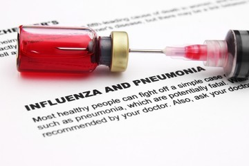Influenza and pnemonia