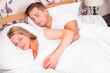 Pärchen beim schlafen