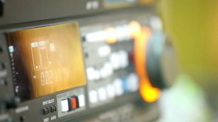 videotape recorder