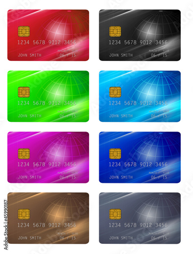 templates for credit or membership cards