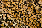 dry firewood background