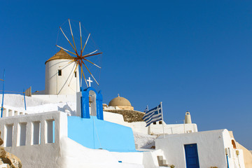 Windmill in Oia