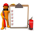 Fireman Clipboard
