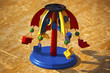 Wooden Colorful Carousel Toy