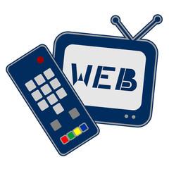 Web television icon