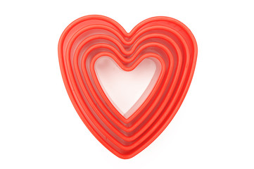 Heart shaped cutters,