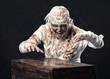 mummy in the studio