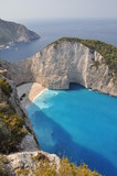 panorama over Shipwreck Bay, Zante