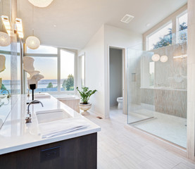 Beautiful Bathroom in Luxury Home
