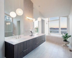 Beautiful Bathroom in Luxury Home