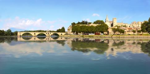 Avignon sur le Rhône