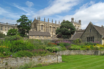 Christ Church college in Oxford, United Kingdom.