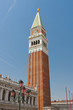 San Marco Campanile - bell tower of Saint Mark cathedral.