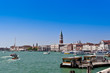 Sea view of Piazza San Marco and The Doge's Palace. Venice, Ital