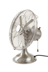 Vintage four-bladed oscillating fan