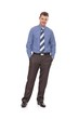 Confident businessman full-length