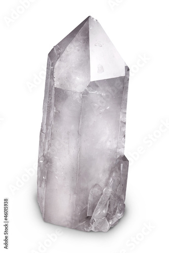 Natural quartz berg crystal