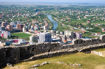Town And Castle Of Lezhe, Albania