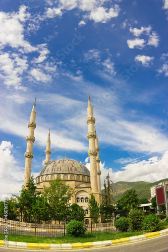 Mosque in the center of Anamur, Turkey