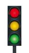 Vektor Ampel dreifarbig - 46016935