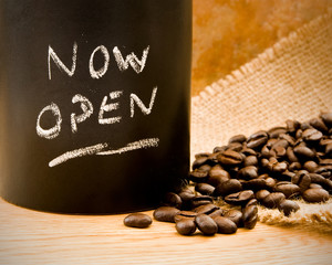 coffee shop now open