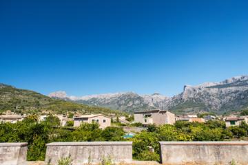 mediterranean village of Majorca island