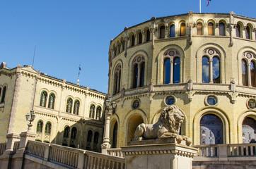 Norwegian parliament Storting Oslo