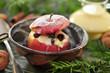 Bratapfel mit Zimt