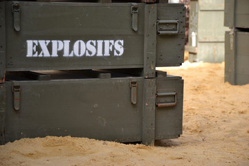 Symbolique - Caisses d'Explosifs