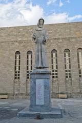 Statua di San Francesco d'Assisi, Rodi- Grecia