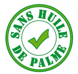 Label garanti sans huile de palme