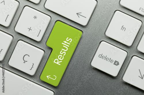 Results keyboard key