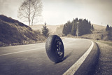 Tire on the Road