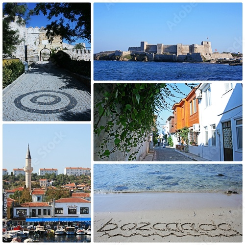 Places from an Aegean Island (Bozcaada-Tenedos),Turkey
