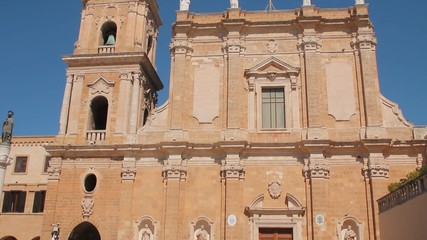Catholic cathedral in Brindisi, Italy