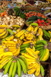 Fresh fruit and vegetables in a market