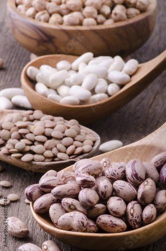 varietà di legumi