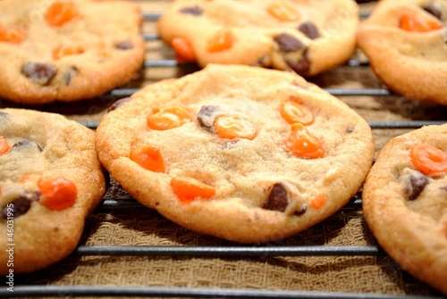 Halloween Cookie Close-Up