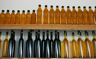 Organic products shop,olive oils
