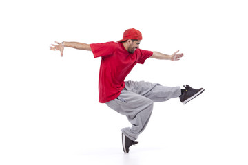 Hip hop dancer