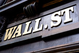 Fototapety Wall Street Sign, New York