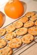 Pumpkin Cookies Cooling