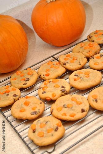 Cooling Pumpkin Cookies