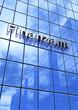 Blaue Fassade - Finanzamt 2