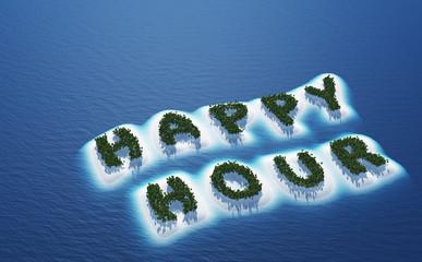 Happy Hour - Insel Konzept 3