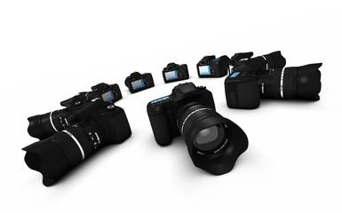 DSLR Konzept - Digitale Spiegelreflexkameras im Kreis 2