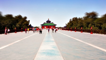 Beautiful Scene of Beijing: Temple of Heaven, Beijing, China