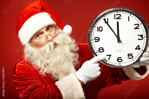 Five minutes to Christmas