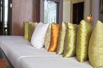 Luxury bespoke loungeing scatter cushions