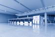 Interior of airport